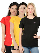 Unicarress Cotton Stretch Red Yellow Black Combo