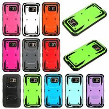 Hybrid Dual Layer Full Body Protective Shell Case Cover For iPhone Samsung LG