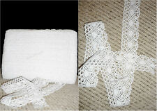 Vintage Style Cotton Crochet Lace Edge Trim White Ribbon Sewing Crafts CTRM132