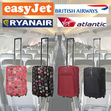 "55cm 21"" British Airways BA Virgin Easyjet Ryanair Cabin Hand Luggage Bag Case"