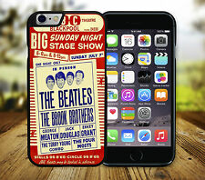 The Beatles Blackpool Vintage Gig Poster iPhone 6+/6s+ 6/6s 5c 5/5s SE 4/4s Case
