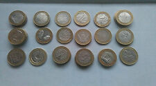 British  £2 coins - Collectable