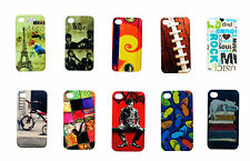 ZAZZLE Rubberized Protective Printed Case Covers For - Apple Iphone 4G