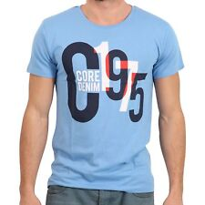 JACK & JONES Herren T-Shirt SHADE in Blau