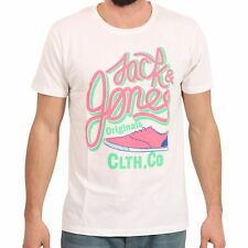 JACK & JONES ORIGINALS Herren T-Shirt MICHAEL in Weiß