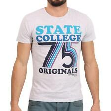 JACK & JONES ORIGINALS Herren T-Shirt SALLING in Grau