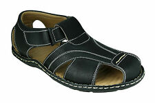 Azazo Brand Men 10 Black New Sandals Wear Boys Gents