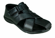 Azazo Brand Men 21 Black New Formal Sandals Wear Boys Gents