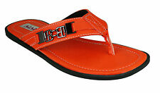 Azazo Brand Men 17 Orange New Slippers Wear Boys Gents