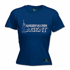 Underwater Agent WOMENS T-SHIRT Scuba Diving Dive Gear Tee Funny Gift birthday