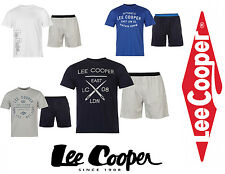 PYJAMA LEE COOPER ENSEMBLE TEE-SHIRT + SHORT du XS au XXL
