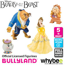 Official Bullyland Disney Beauty and the Beast Figurines - 5 Cake Topper Figures