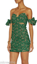 SELF-PORTRAIT Butterfly Guipure Lace Mini Dress Bow New BNWT UK 6 8  Sold Out!