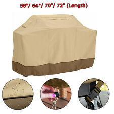 "BBQ Grill Cover 58"" 64"" 70"" 72"" Gas Barbecue Patio Garden Protection Waterproof"