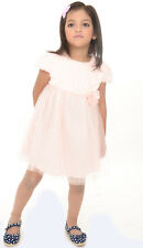 Joy n Fun Light Pink party wear Flared Frock