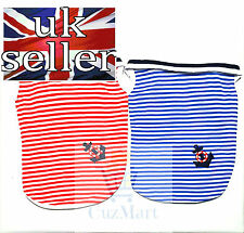 Navy Anchor Striped Vest / Jumper For Dogs And Puppies