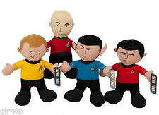 """14"""" STAR TREK Soft Toy Captain Kirk Spock Scotty & Jean-Luc Picard Characters"""