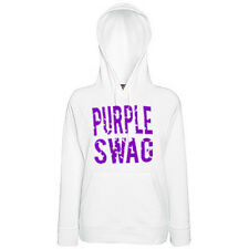 Original Schwarzmarkt Damen Hoodie PURPLE SWAG ASAP OBEY Last Kings Tyga Yolo