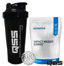 My Protein IMPACT WEIGHT GAINER 2.5KG GROWTH AND MAINTENANCE OF LEAN MASS +SHAKE
