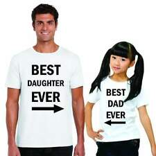 Best Daughter And Dad Ever Dad And Child Family T-shirts - Cotton