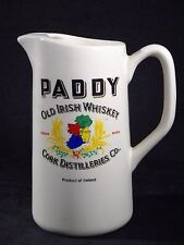 "RARE Vintage ""Paddy Old Irish Whiskey"" Ceramic Pitcher Carrigdhoun Pottery CO-OP"