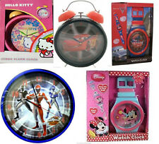 Brand New Boxed Jumbo Alarm Clock Girls Kids Round Bedroom Wall Clock