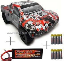 SHORT COURSE TRUCK 1/10 OFF-ROAD CRAWLER ELETTRICO BRUSHLESS 4WD RTR 2.4GHZ VRX