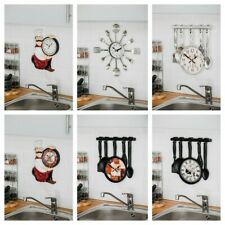 French Bistro Style Kitchen Wall Clock - Paris Chef by COSTELLO®
