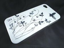 Flower Flowers & Butterfly Hard Case Cover for iPhone 4 & 4S    BUY 2 GET 2 FREE