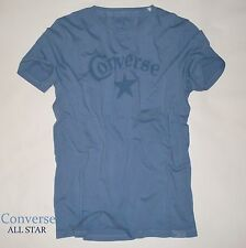 CONVERSE All Star T-Shirt *Premium* Basic Tee moonlight blue *Print Shirt *NEU
