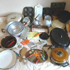 Selection of vintage / retro kitchenalia - - buy separately