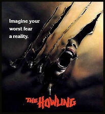 The Howling 80s movie T SHIRT Men's 8 colours 6 sizes werewolf horror cult