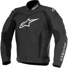 10% OFF Alpinestars GP PLUS R Black Motorbike Leather Sports Jacket