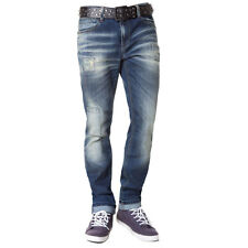 CIPO & BAXX COTTON JEANS - C1154 BRANDNEW PATCHED  BLUE JEANS ALL SIZES