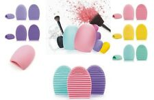 Makeup Brush Cleaner Brush Egg Cosmetic Cleaning Tool Silicone- Choose Yours