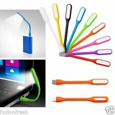 Flexible Portable Foldable USB LED Light Lamp Computer Notebook Laptop Powerbank
