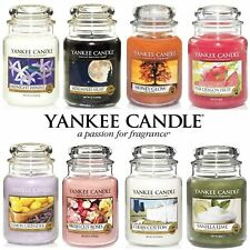 Yankee Candle Scented Fragrance Candles Classic Luxury Large 22oz Glass Jar 623g