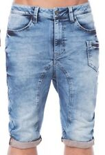 CIPO AND BAXX COTTON SHORTS - CK106 DENIM SHORTS