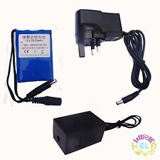 Rechargeable Driver for 5-15metres EL Wire or up to 400 squ cm of EL Tape Panel