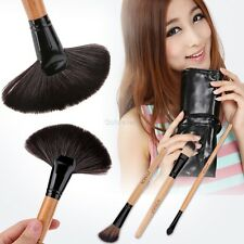 24tlg Pinsel Set Professionelle Make-up Brush mit kosmetik Tasche Pinsel 4 Farbe