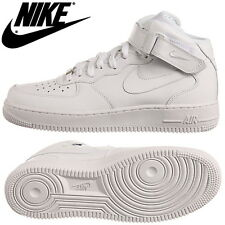 NIKE SNEAKERS AIR FORCE 1 MID ALTA BIANCA TOTAL WHITE ART. 315123-111