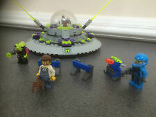 LEGO SPACE ALIEN CONQUEST UFO ABDUCTION 7052-1 USED AND COMPLETE
