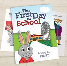 Personalised FIRST DAY AT SCHOOL Book - New School Book - Starting School Book