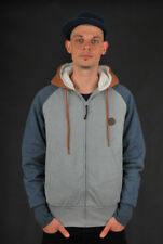 BILLABONG BOCK SHERPA ZIP HOODIE GREY HEATHER JACKE