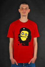 CLEPTOMANICX T-SHIRT ZHE GUEVARA RED SHIRT