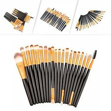 Gold/Purple 25X Professional Make up Brushes Foundation Brushes Set