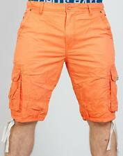 CIPO & BAXX COTTON SHORTS - CK110 ORANGE SHORTS ALL SIZES