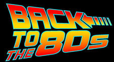 Back to the 80s spoof future film movie retro T SHIRT Ladies cool cult