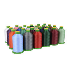 STRONG BONDED NYLON THREAD 40'S 3000MTR UPHOLSTERY 26 COLOUR FREE POST UK SELLER