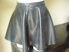 THE FEDERATION RUBBER LATEX SKATING MINI SKIRT  SALE PRICE